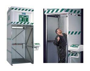 Emergency safety showers and eye wash stations