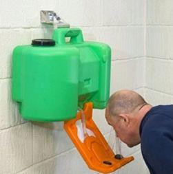 Australian standard compliant eye wash equipment, eyewashes and portable eyewash units