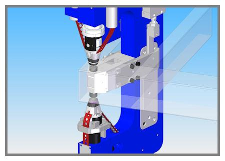 Riveting system improves steel frame fabrication