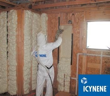 Icynene: The leading soft spray foam insulation system for your home