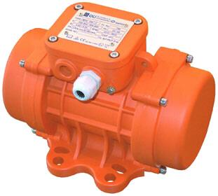 OLI Vibrating Screen Motors supplied by Inquip