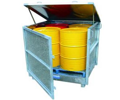 Drum Storage - Fully Enclosed