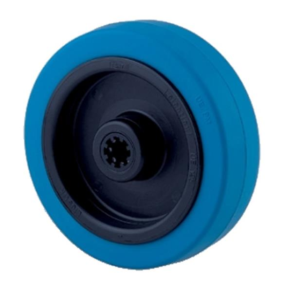Tente Blue Resilex Industrial Wheels