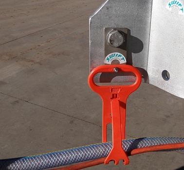 Bolted Hose & Cable Hangers   Air Line Hanger   Pneumatic Hose Hanger
