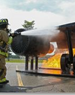 Aircraft Wing Fire Training Prop