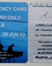 Duty of Care Cards | Blue Card