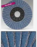 Flat Flap Discs | Zircotex-Nylon