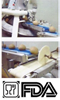Conveyor Belt | Blue Anti-Microbial Felt - Bakery Industry