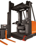 Very Narrow Aisle Forklift | Raymond 9000 Series Swing-Reach Forklift