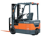 Battery Counterbalance Forklift | 1.0 - 2.0 Tonne 7-Series 3-Wheel
