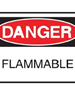Danger Flammable Sign | DGR 014