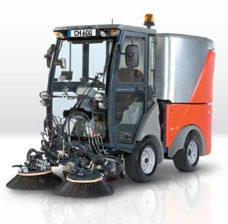 Foothpath Carpark Suction Sweeper | Citymaster 600 | Hako
