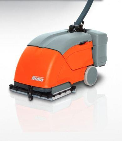 Automatic Floor Scrubber | Hakomatic B10 | Battery Powered