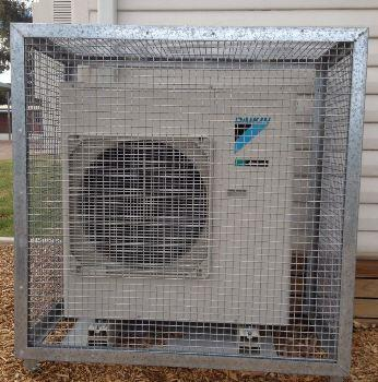 Security Cages for Air Conditioner Condensers | Redbank Group