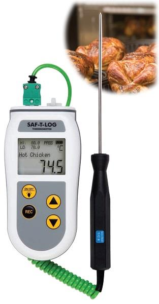 Food Processing Thermometer | Saf-T-Log