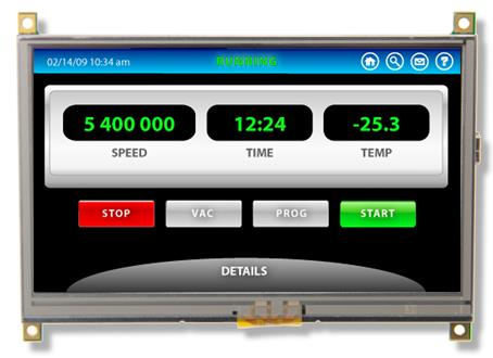 Embedded Touch Screen Display Modules | Reach