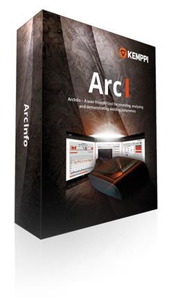 Weld Data Software & Analysing Tool | ArcInfo 2.5
