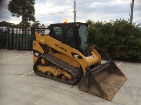 Track Loader | Caterpillar 259B3 UEQ2036