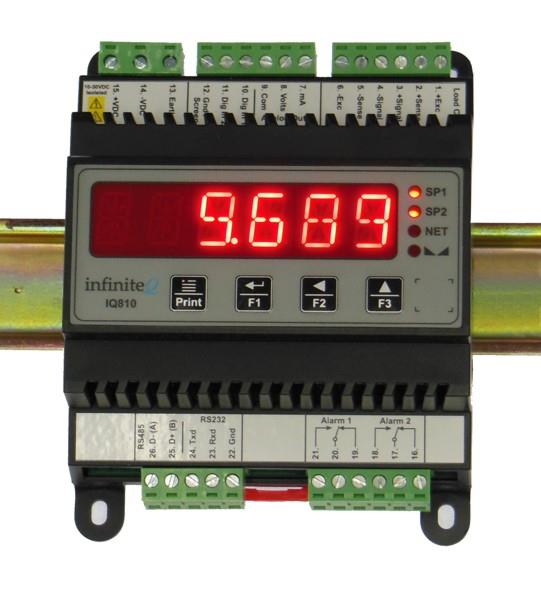 Load Cell Display Transmitter | Model IQ810