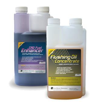 Flushing Oil Concentrate & Fuel Enhancer Value Pack | CRD