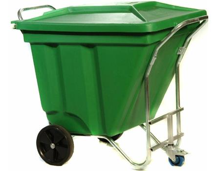 SuperiorPak E374 Gho Kart Mobile 270L Waste Bin