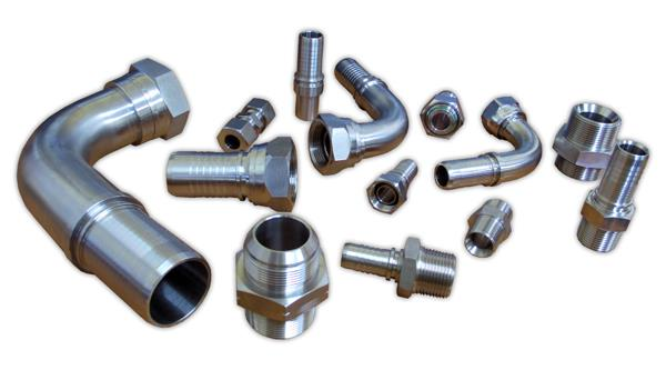 Industrial & Hydraulic Fittings | Pacific Hoseflex