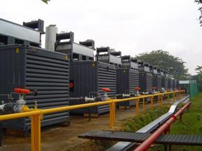Gas Power Generator | Aggreko 1375kVA