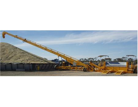 Bunker Stacker & Drive-Over Hopper