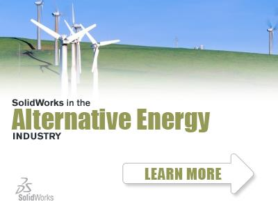 SolidWorks in the ALTERNATIVE ENERGY Industry