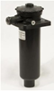 Polyaminde Return Line Filter - RFM Black with 4 Hole Mounting Flange