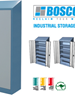 Storage Cupboard | Industrial Solutions | Slope Top | BOSCOTEK ™