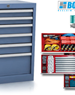 Drawer Storage Cabinet | Workshop Storage | BOSCOTEK ™ - BTCD. 850.560