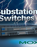 Moxa Electric Utility Substation Ethernet Switches