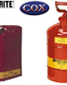 Justrite Dangerous Goods Safety Cans