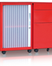 Office Storage Cabinet | Mobile Caddy | Bosco Storage Solutions