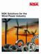 NSK Solutions for Wind Power Industry (Catalogue)