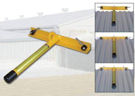 Anchor on the Go™ - Temporary Fall Protection Roof Anchor for Metal Roofs