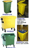 Mobile Wheelie Bins 60 -1100 litres