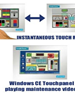 Touch Screen Operator interface Panels -Windows CE Interface