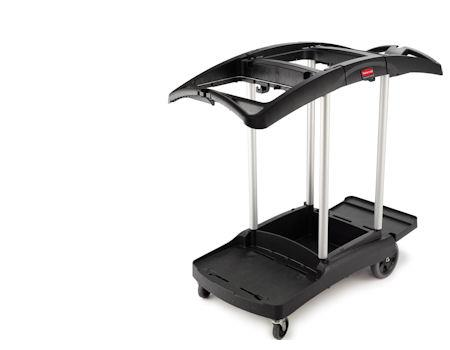 Rubbermaid 9T92 Triple Capacity Cleaning Cart