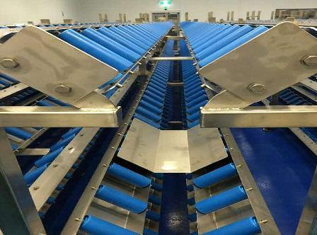 Cylindrical Product Handling with V Conveyors