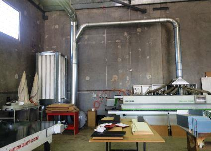 Ezi-Duct dust collections system helps clean air for QLD cabinet maker