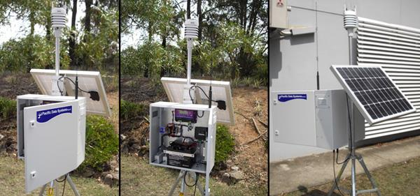 Water level and weather monitoring