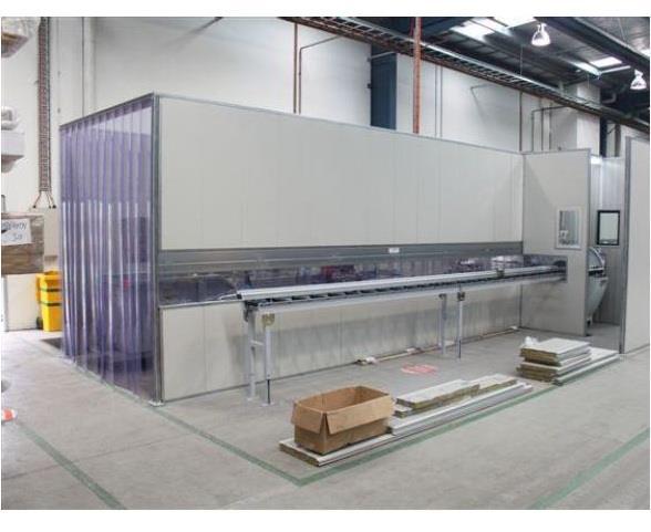 Flexshield offers acoustic enclosure for noise control on workshop saw