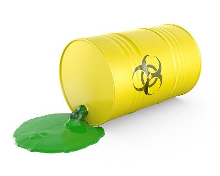 What to do when a hazardous substance is spilled