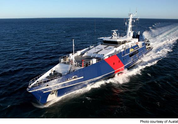Marine sewage treatment system used aboard Aussie patrol boats