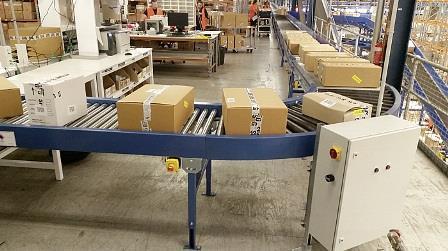 Benefits of low pressure accumulating roller conveyors