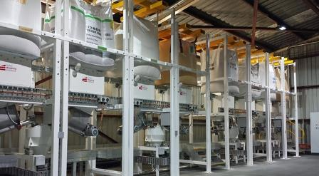 Bulk bag unloading system delivers hygienic and accurate additives