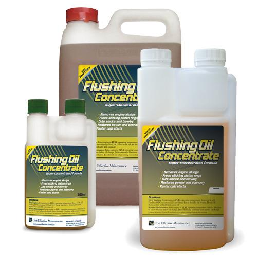 Flushing Oil Concentrate Case Histories
