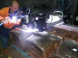Case Study: Welding automation in overlay processes